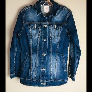 Lularoe Blue Jean Jacket Womens Size Medium M